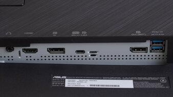 ASUS ProArt Display PA278CV Inputs 1