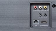 Hisense H9F Rear Inputs Picture