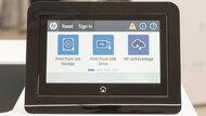 HP Color LaserJet Enterprise M555dn Display Screen Picture