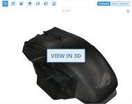 ASUS ROG Spatha X 3D Model