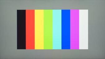 ASUS TUF Gaming VG259QM Color Bleed Vertical