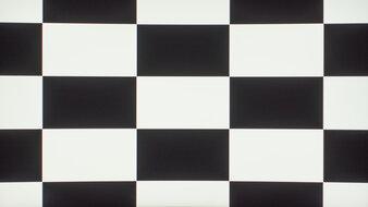 Dell S3222DGM Checkerboard Picture