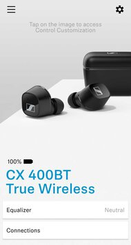 Sennheiser CX 400BT True Wireless App Picture