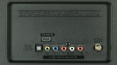 LG LF6000 Rear Inputs Picture
