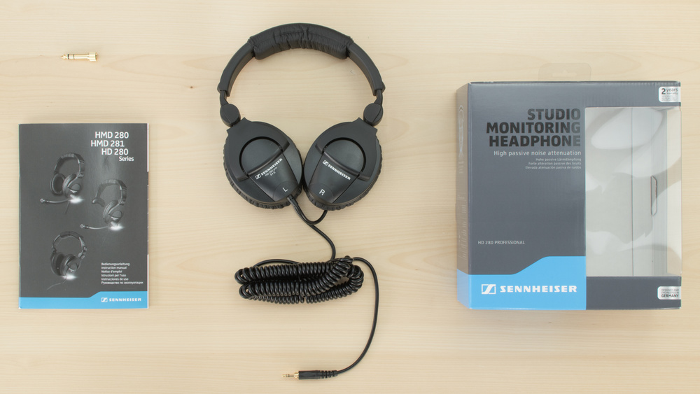 Sennheiser HD 280 Pro In the box Picture
