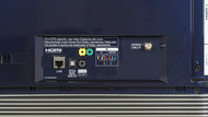 LG E6 OLED Rear Inputs Picture