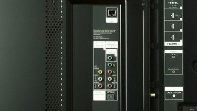 Sony W950B Rear Inputs