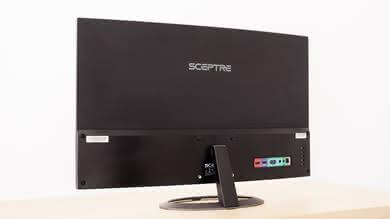 Sceptre C325W Back picture