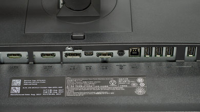 Dell U2515H Inputs 1