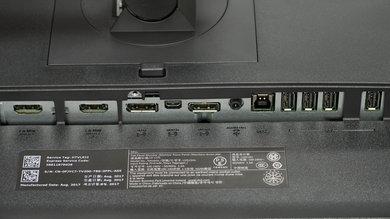 Dell U2515H Inputs 1