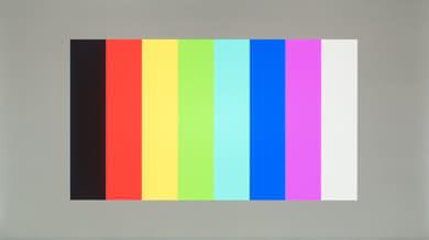 Acer G257HU Color bleed vertical