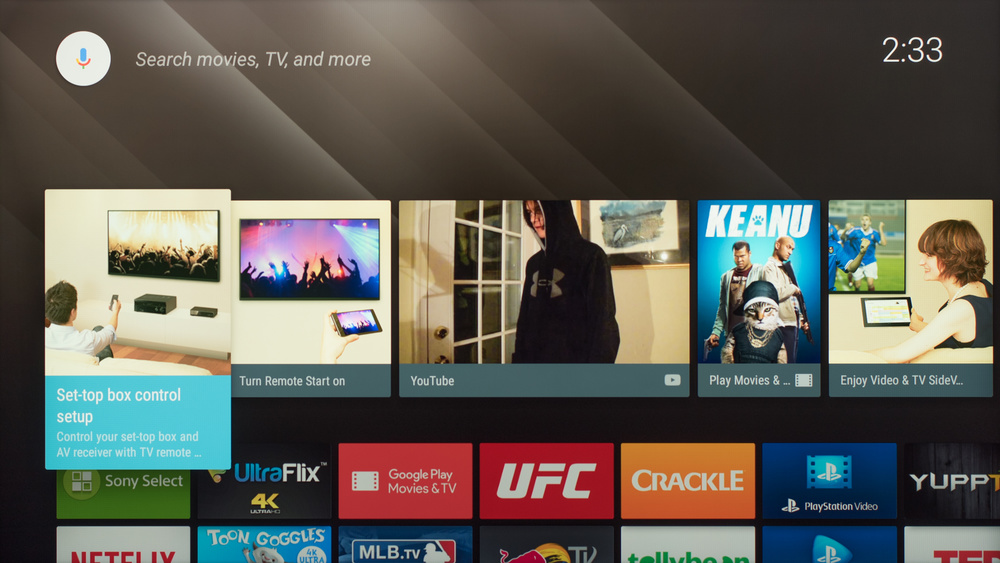 Sony X800D Smart TV Picture