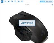 ASUS ROG Spatha 3D Model
