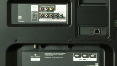 Sony W850B Rear Inputs