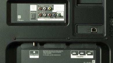Sony W850B Rear Inputs