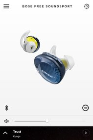 Bose SoundSport Free Truly Wireless App Picture