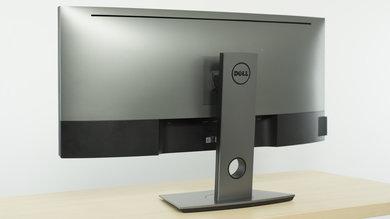Dell U3417W Back picture