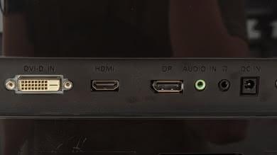 Acer G257HU Inputs 1