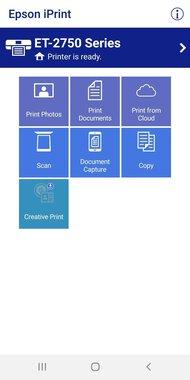 Epson Expression ET-2750 App Printscreen