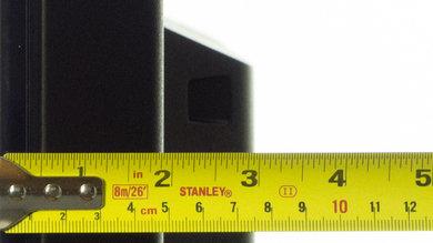 Sony W600B Thickness
