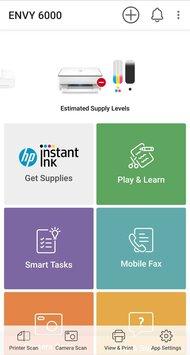 HP ENVY 6055 App Printscreen
