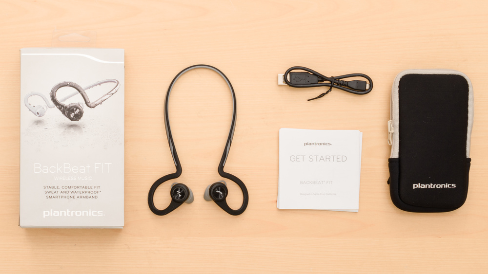 Plantronics BackBeat Fit Wireless In the box Picture
