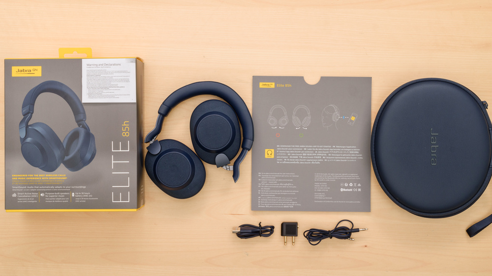 Jabra Elite 85h Wireless In the box Picture