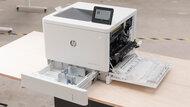 HP Color LaserJet Enterprise M555dn Build Quality Close Up