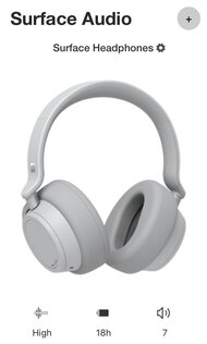 Microsoft Surface Headphones 2 Wireless App Picture