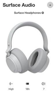 Microsoft Surface Headphones 2 Wireless App Picture