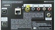 Samsung F5500 Plasma Rear inputs