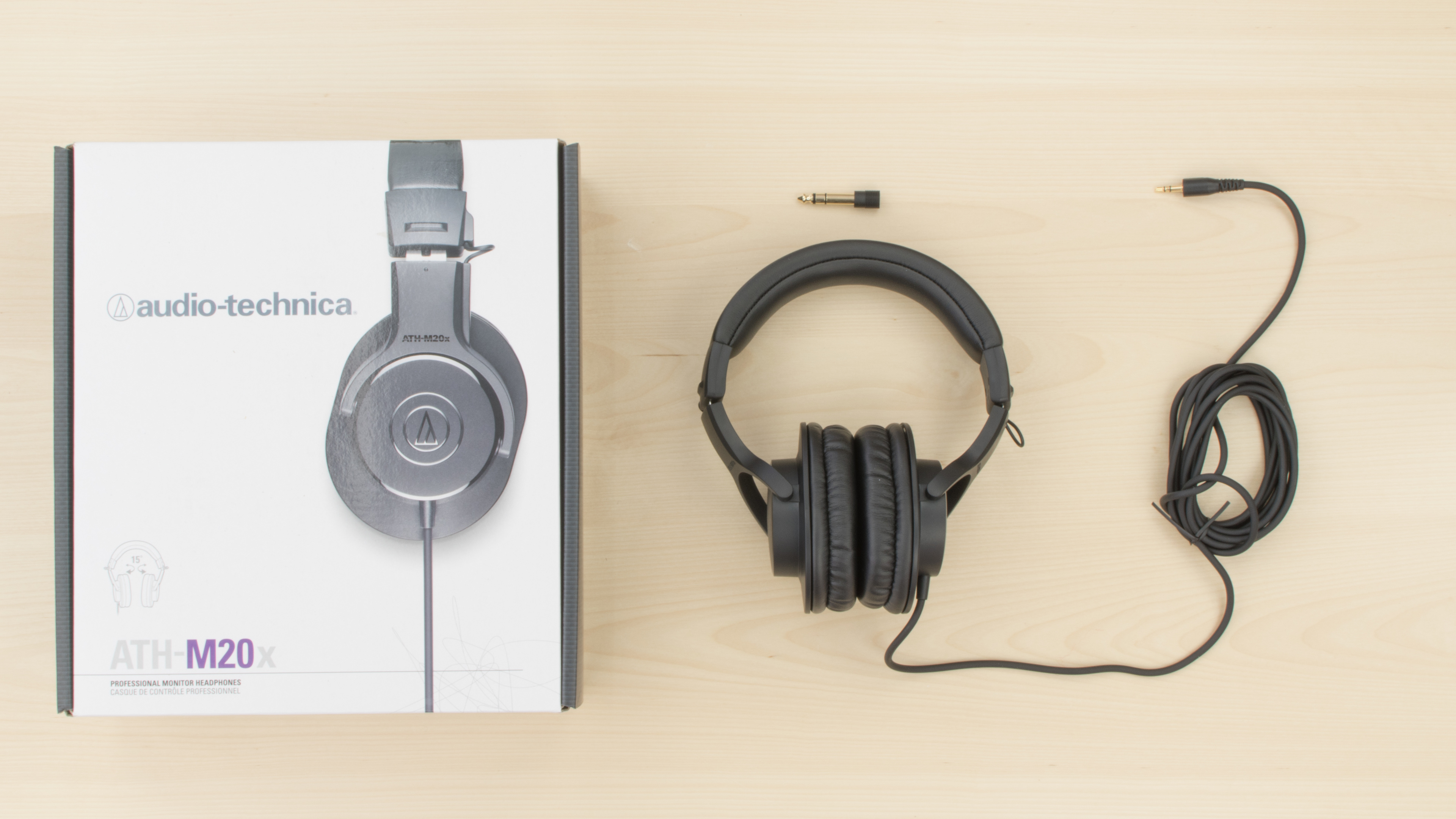 Audio Technica Ath M20x Professional Monitor Review M40x Monitoring Headphone In The Box Picture