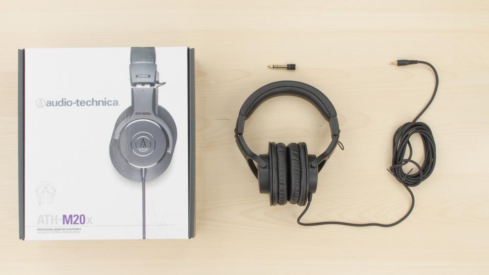 Audio-Technica ATH-M20x In the box Picture