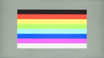 ASUS ProArt Display PA278CV Color Bleed Horizontal