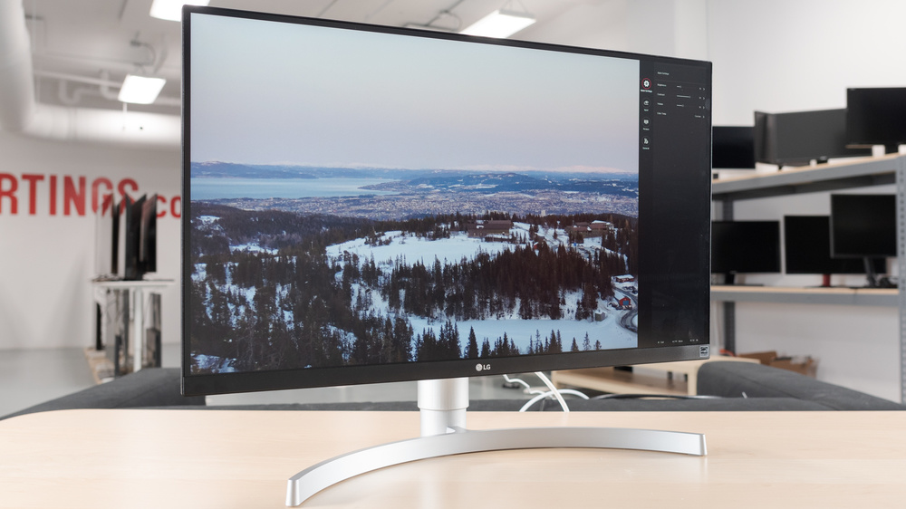 LG 27UK650-W Design Picture