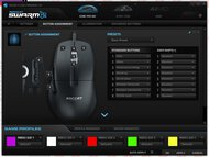 ROCCAT Kone Pro Air Software settings screenshot