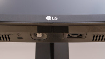 LG 38GN950-B Controls Picture