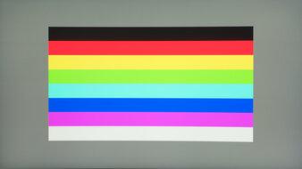 AOC CQ27G1 Color Bleed Horizontal