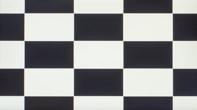 Dell P2217H Checkerboard Picture