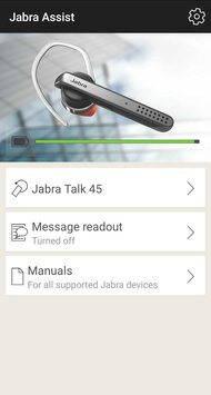 Jabra Talk 45 Bluetooth Headset App Picture