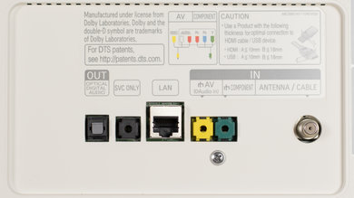LG UH8500 Rear Inputs Picture