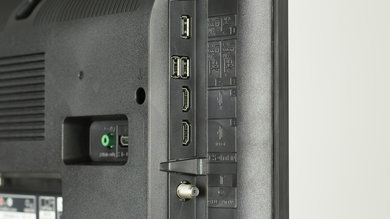 Sony X720E Side Inputs Picture