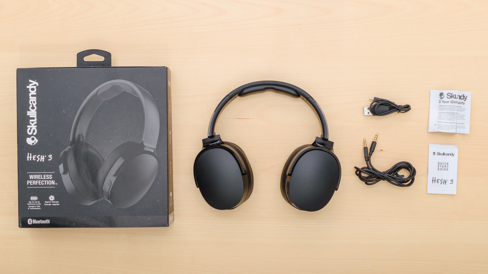 Skullcandy Hesh 3 Wireless In the box Picture