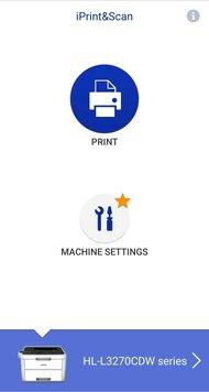 Brother HL-L3270CDW Laser App Printscreen