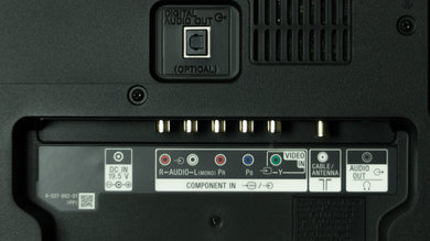 Sony R420B Rear Inputs