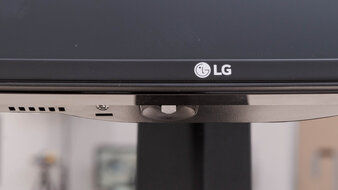 LG 34GP83A-B Controls Picture