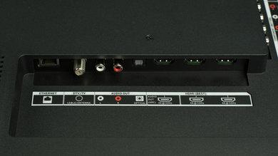 Vizio D Series 4k 2016 Rear Inputs Picture