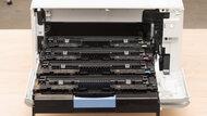 HP Color LaserJet Pro M454dw Cartridge Picture In The Printer