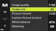 Nikon COOLPIX P950 Screen Menu Picture