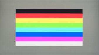 LG 27GP83B-B Color Bleed Horizontal